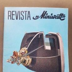 Radios antiguas: REVISTA MINIWATT . MAYO 1969. Lote 199924422