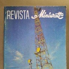 Radios antiguas: REVISTA MINIWATT . SEPTIEMBRE 1970. Lote 199926833