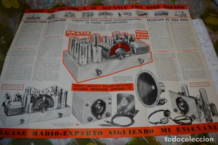 Radios antiguas: Lote documentos curso CIENCIA y MECÁNICA / Instituto RosenKranz / Los Ángeles USA - 1935/36 ¡Mira! - Foto 2 - 202891783