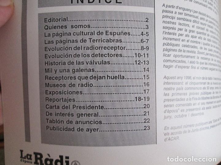 Radios antiguas: LA RADIO DE EPOCA AÑO 3 PRIMERA EPOCA NUMERO 17 ASOCIACION ACAR OCTUBRE1998 - Foto 2 - 203262012