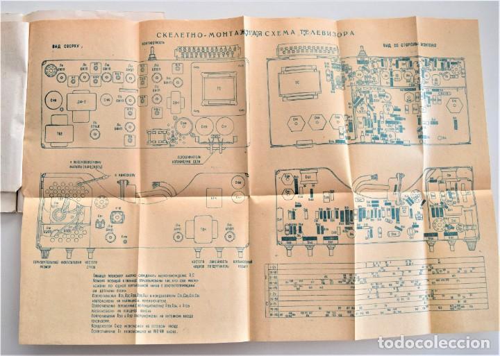 Radios antiguas: CATÁLOGO Y MULTITUD DE DOCUMENTACIÓN TELEVISIÓN AÑOS 60 DE UN PAÍS DEL ESTE (GUERRA FRÍA) - Foto 6 - 203379200