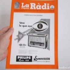 Radios Anciennes: LA RADIO DE EPOCA AÑO IV PRIMERA EPOCA NUMERO 21 ASOCIACION ACAR ABRIL 1998. Lote 203418665