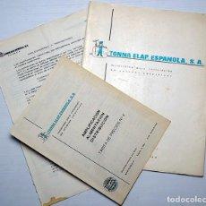 Radios antiguas: TONNA ELAP. ESPAÑOLA, S.A. ANTENAS COLECTIVAS AÑOS 70. Lote 204797026