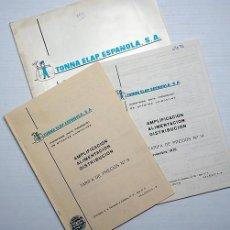Radios antiguas: TONNA ELAP. ESPAÑOLA, S.A. ANTENAS COLECTIVAS. AÑOS 70. Lote 204797602
