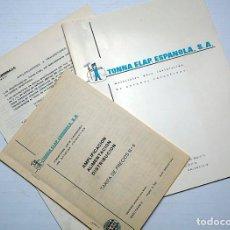 Radios antiguas: TONNA ELAP. ESPAÑOLA, S.A. ANTENAS COLECTIVAS. AÑOS 70. Lote 204797902