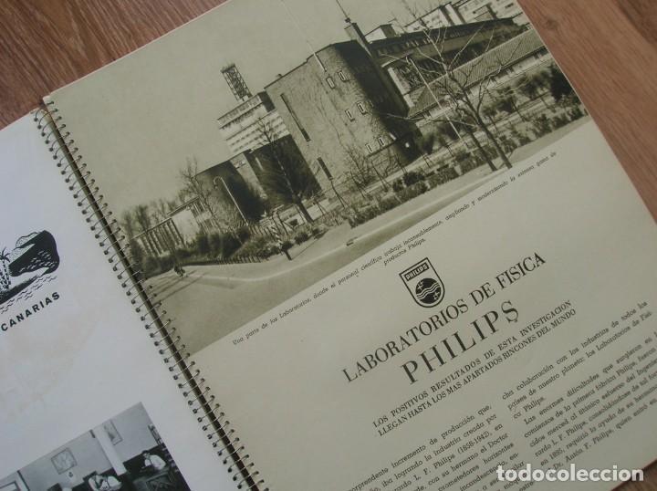 Radios antiguas: ONDAS Y ESTRELLAS PHILIPS EN ESPAÑA. ESCUDO EN PORTADA DE AGUILA DE SAN JUAN. EPOCA DE FRANCO. 1951. - Foto 4 - 205828425