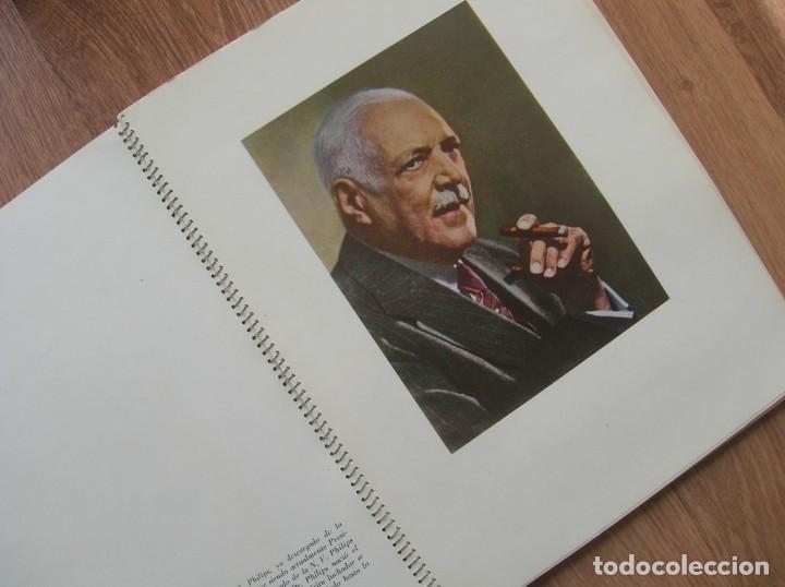 Radios antiguas: ONDAS Y ESTRELLAS PHILIPS EN ESPAÑA. ESCUDO EN PORTADA DE AGUILA DE SAN JUAN. EPOCA DE FRANCO. 1951. - Foto 7 - 205828425