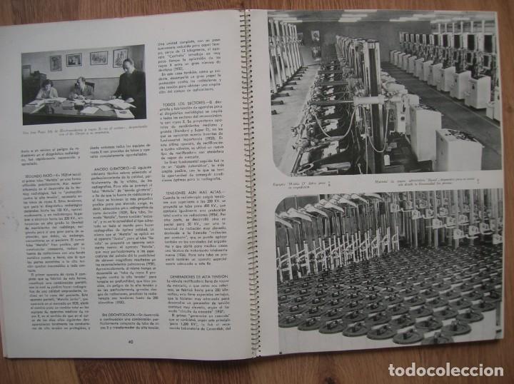 Radios antiguas: ONDAS Y ESTRELLAS PHILIPS EN ESPAÑA. ESCUDO EN PORTADA DE AGUILA DE SAN JUAN. EPOCA DE FRANCO. 1951. - Foto 9 - 205828425
