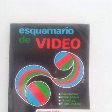 Radios antiguas: ESQUEMARIO DE VIDEO. Lote 206595450