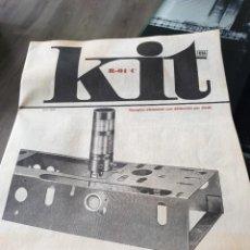 Radios antiguas: MANUAL KIT AFHA R-01C. Lote 206921027