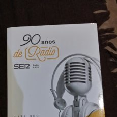 Radios antiguas: 90 AÑOS DE RADIO SER RADIO CÁDIZ. Lote 208318818
