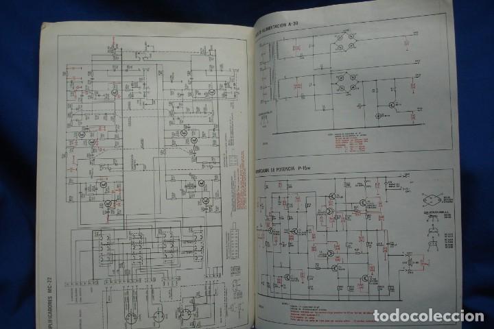 Radios antiguas: ESQUEMAS DE AMPLIFICADOR RECEPTOR HF30 - ELECTRÓNICA CLARIVOX - Foto 3 - 209290010