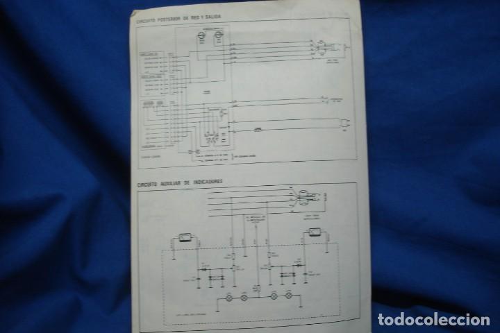 Radios antiguas: ESQUEMAS DE AMPLIFICADOR RECEPTOR HF30 - ELECTRÓNICA CLARIVOX - Foto 4 - 209290010