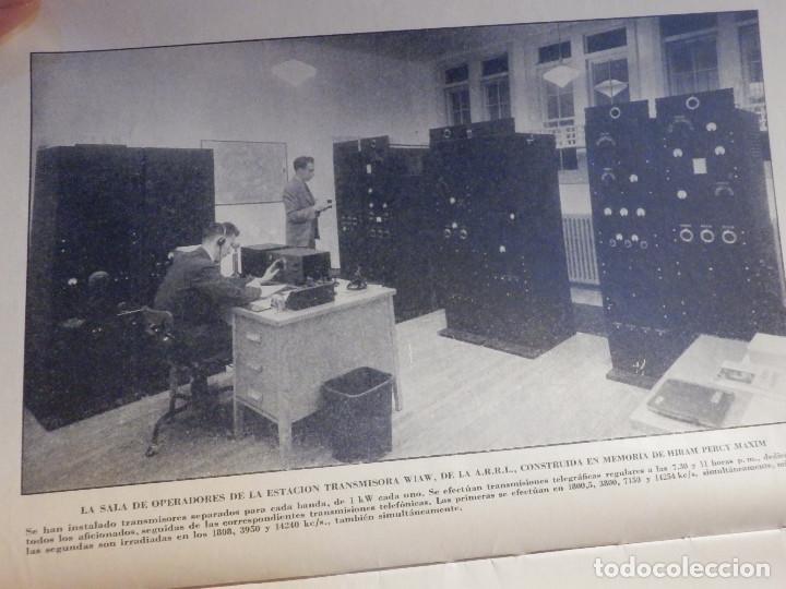 Radios antiguas: Aparatos de radio a Válvulas, The Radio Amateurs HandBook en Castellano - American Relay League 1939 - Foto 5 - 210380302