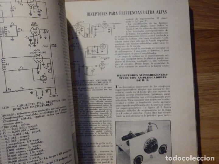 Radios antiguas: Aparatos de radio a Válvulas, The Radio Amateurs HandBook en Castellano - American Relay League 1939 - Foto 12 - 210380302