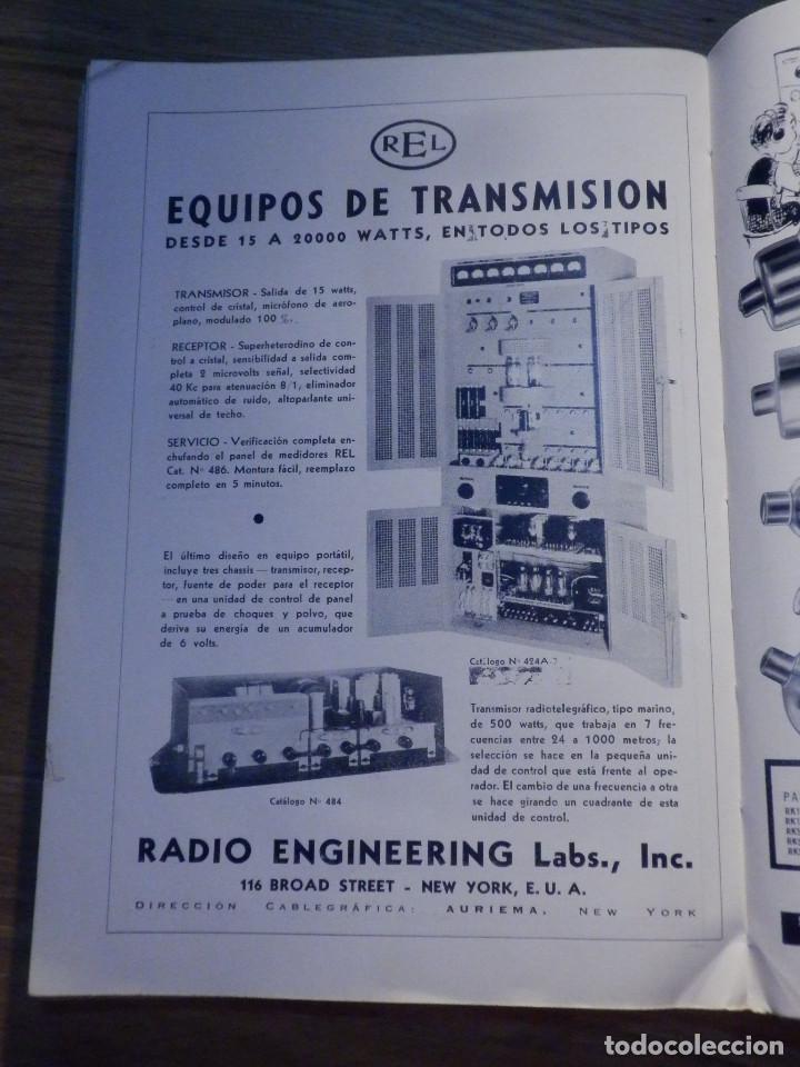 Radios antiguas: Aparatos de radio a Válvulas, The Radio Amateurs HandBook en Castellano - American Relay League 1939 - Foto 14 - 210380302
