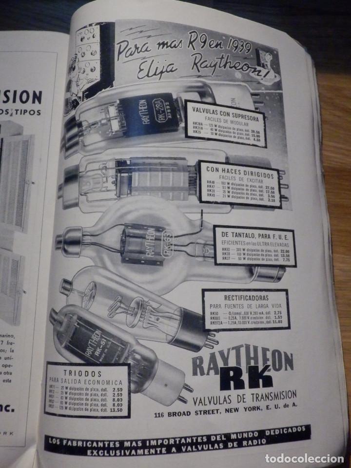 Radios antiguas: Aparatos de radio a Válvulas, The Radio Amateurs HandBook en Castellano - American Relay League 1939 - Foto 15 - 210380302