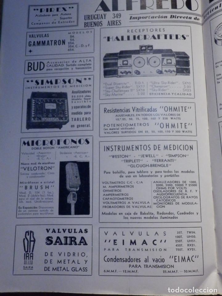 Radios antiguas: Aparatos de radio a Válvulas, The Radio Amateurs HandBook en Castellano - American Relay League 1939 - Foto 16 - 210380302