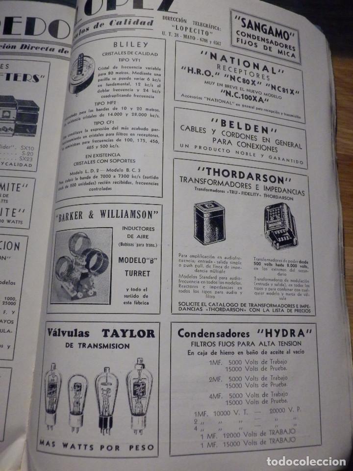 Radios antiguas: Aparatos de radio a Válvulas, The Radio Amateurs HandBook en Castellano - American Relay League 1939 - Foto 17 - 210380302