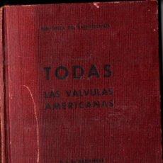 Radios antiguas: DARKNESS : TODAS LAS VÁLVULAS AMERICANAS (BRUGUERA, C. 1945) CON LA LÁMINA DE 60X80 CM.. Lote 227972290