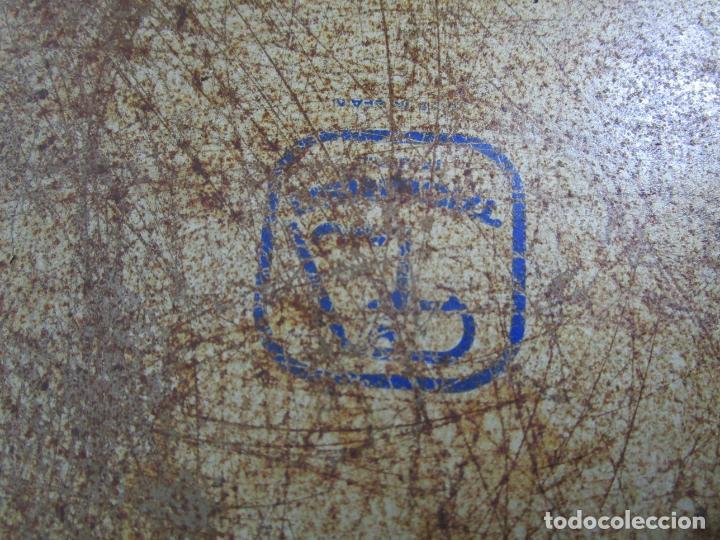 Radios antiguas: Bandeja Publicitaría - Gramófono - La Voz de Su Amo - Metal Litografiado - Foto 3 - 212987348