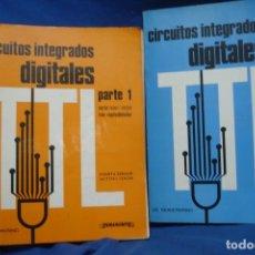 Radios antiguas: CIRCUITOS INTEGRADOS DIGITALES - DE MUIDERKRING - PARANINFO 4ª EDICIÓN 1984. Lote 213739300