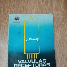 Radios antiguas: VALVULAS RECEPTORAS Y AMPLIFICADORAS. Lote 214532016