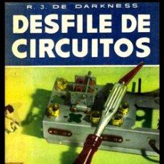 Radios antiguas: RADIO. A VALVULAS. DARKNESS. DESFILE DE CIRCUITOS. ESQUEMAS DE TODA CLASE DE RECEPTORES.... Lote 216630870