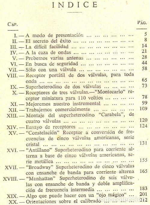 Radios antiguas: RADIO. A VALVULAS. DARKNESS. LA RADIO FACIL. SUPERHETERODINO. MONTAJE. CALIBRADO.... - Foto 2 - 216631235