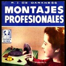 Radios antiguas: RADIO. A VALVULAS. DARKNESS. MONTAJES PROFESIONALES.. Lote 216632200
