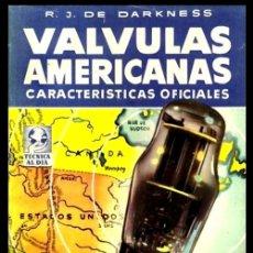 Radios antiguas: RADIO. DARKNESS. VALVULAS AMERICANAS. CARACTERISTICAS OFICIALES.. Lote 216632518