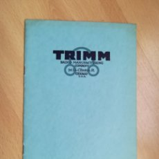 Radios antiguas: TRIMM RADIO. CHICAGO 1924.. Lote 216709963