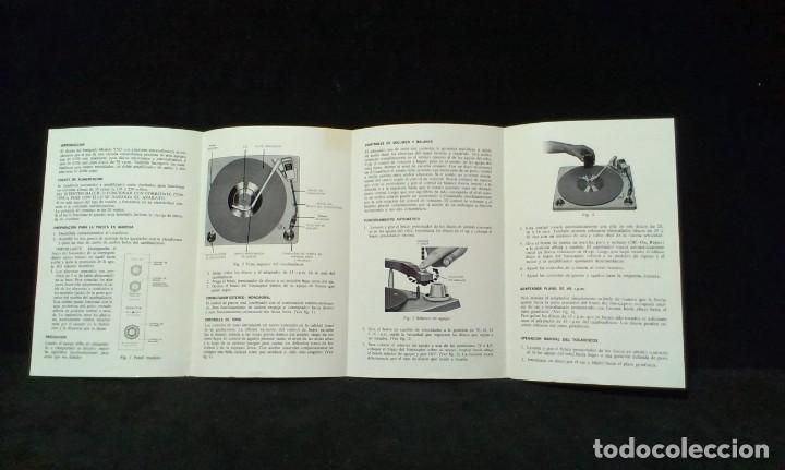 Radios antiguas: INSTRUCCIONES DE MANEJO - ZENITH MOD. Y565 - FONOGRAFO PORTATIL - Foto 2 - 217603416