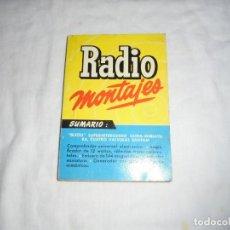 Radios antiguas: RADIO MONTAJES Nº 6.-OCT1955.-R.J.DE DARKNESS.BIJOU SUPERHETERODINO ULTRA-MINIATURA,4 VALVULAS BANTA. Lote 220694131