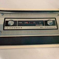 Radios antiguas: RARISIMA PUBLICIDAD DE AUTORADIO TELEFUNKEN PARA SIMCA 1000. IMPECABLE. Lote 221393341