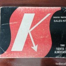 Radios antiguas: SALES KIT TOMO VII FUENTES DE ALIMENTACIÓN. Lote 221769731