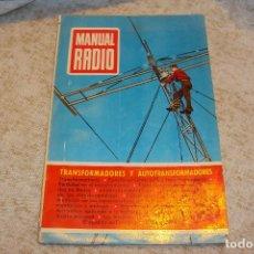Radios antiguas: MANUAL DE RADIO Nº6. Lote 221799282