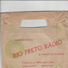 Radios antiguas: ALMERIA- ANTIGUA BOLSA DE RIO PRIETO RADIO. Lote 221839722
