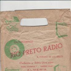 Radios antiguas: ALMERIA- ANTIGUA BOLSA DE RIO PRIETO RADIO. Lote 221839773