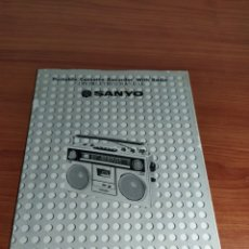 Rádios antigos: MANUAL DE INSTRUCCIONES SANYO M 9940 K. Lote 223005125