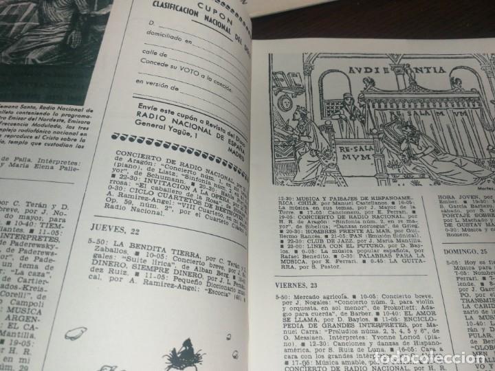 Radios antiguas: BOLETÍN OFICIAL RADIO NACIONAL DE ESPAÑA (1965) - Foto 3 - 224974945