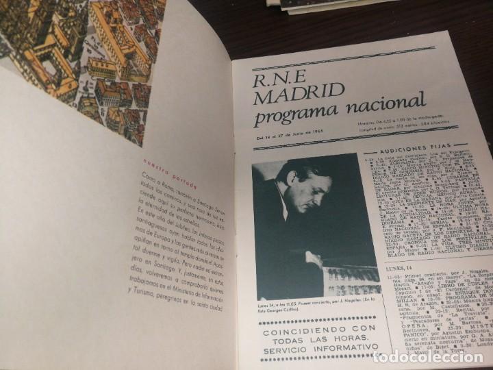 Radios antiguas: BOLETÍN OFICIAL RADIO NACIONAL DE ESPAÑA (1965) - Foto 2 - 224975140