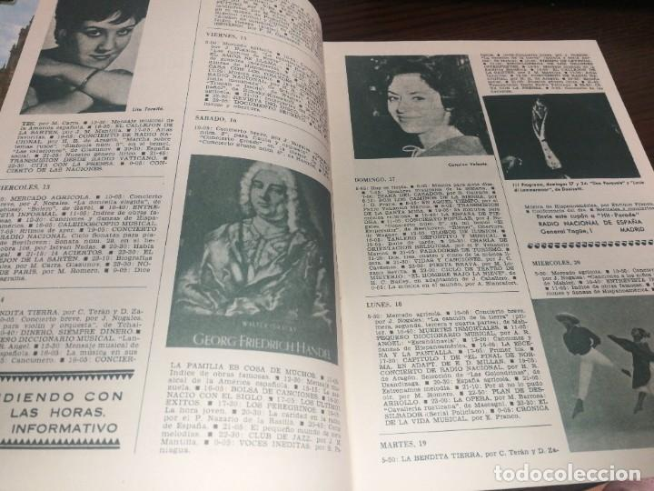 Radios antiguas: BOLETÍN OFICIAL RADIO NACIONAL DE ESPAÑA (1965) - Foto 3 - 224976125