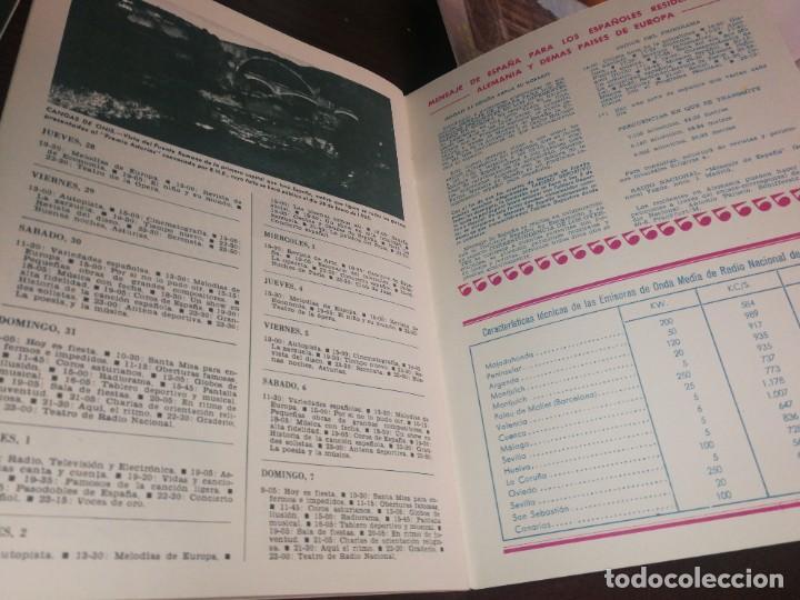 Radios antiguas: BOLETÍN OFICIAL RADIO NACIONAL DE ESPAÑA (1965) - Foto 4 - 224976707