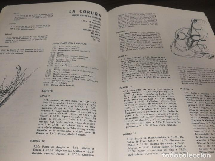 Radios antiguas: BOLETÍN OFICIAL RADIO NACIONAL DE ESPAÑA (1965) - Foto 4 - 224977200