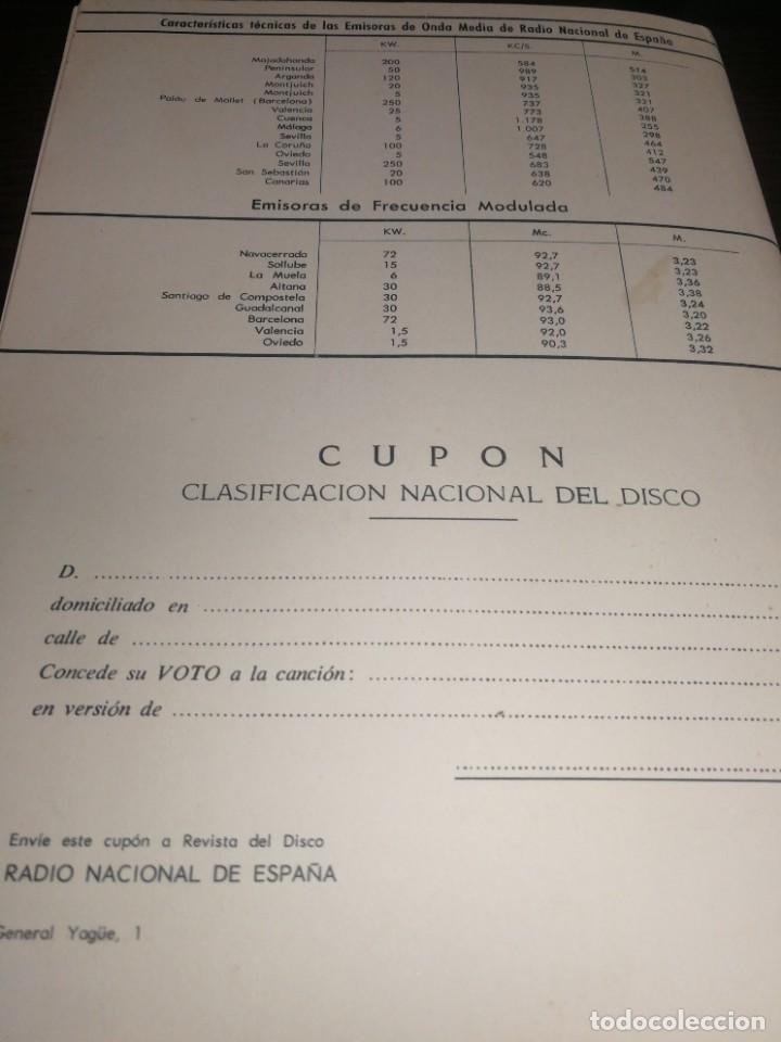 Radios antiguas: BOLETÍN OFICIAL RADIO NACIONAL DE ESPAÑA (1965) - Foto 5 - 224977200