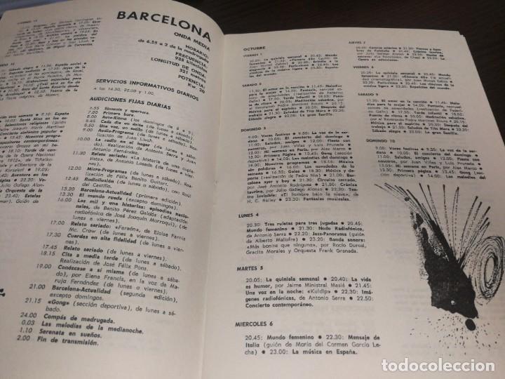 Radios antiguas: BOLETÍN OFICIAL RADIO NACIONAL DE ESPAÑA (1965) - Foto 3 - 224977420