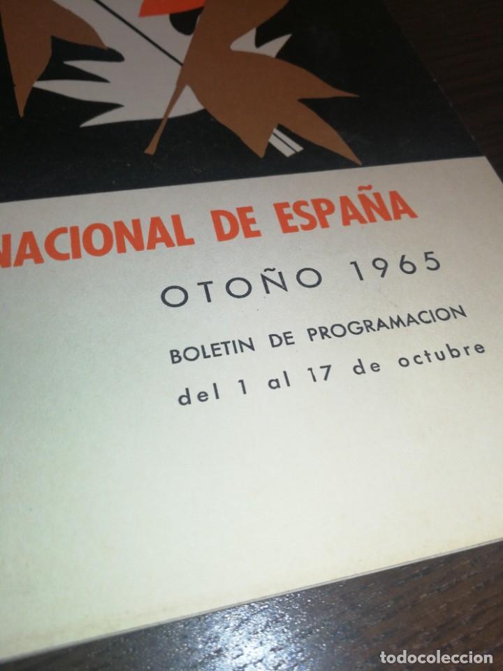 Radios antiguas: BOLETÍN OFICIAL RADIO NACIONAL DE ESPAÑA (1965) - Foto 6 - 224977420