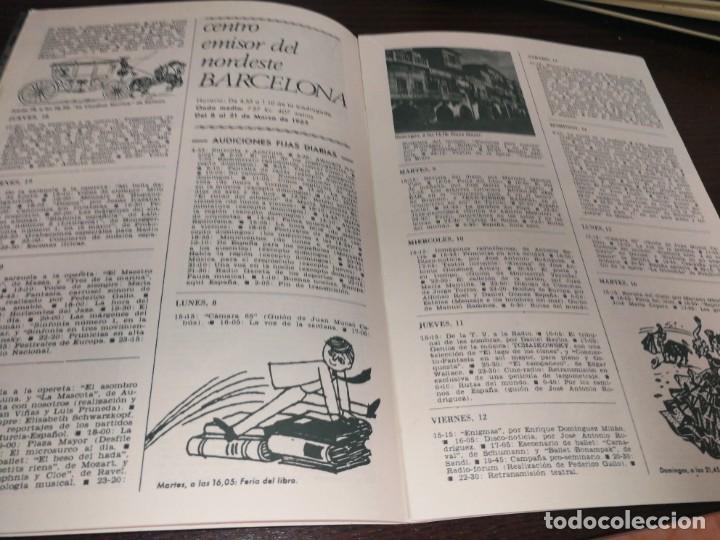 Radios antiguas: BOLETÍN OFICIAL RADIO NACIONAL DE ESPAÑA (1965) - Foto 4 - 224977613