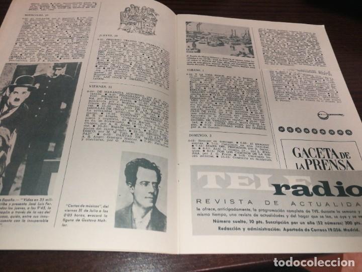 Radios antiguas: BOLETÍN OFICIAL RADIO NACIONAL DE ESPAÑA (1964) - Foto 2 - 224978150